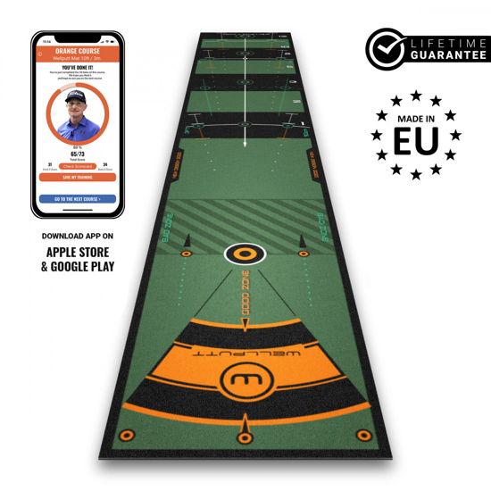Image sur Wellputt Mat 10ft - 3m - Golf putting training mat